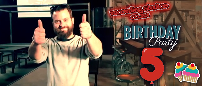 RECORDING STUDIOS' 5TH BIRTHDAY – Interview with Nicol from The Good Luck Bar