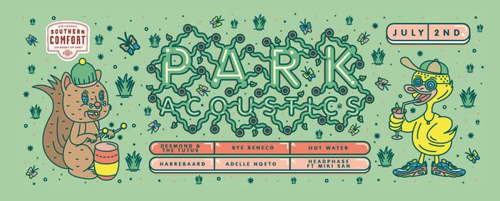 PARK ACOUSTICS – 2 JULY 2017