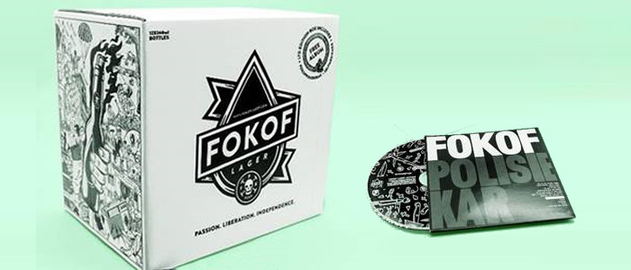 FOKOFPOLISIEKAR's beer and album gift boxes are hitting the stores
