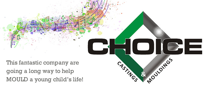 Choice Castings and Mouldings are a choice sponsor for Hear Yee