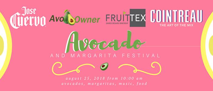 Avocado & Margarita Festival Pre-Sale Tickets On Sale Now