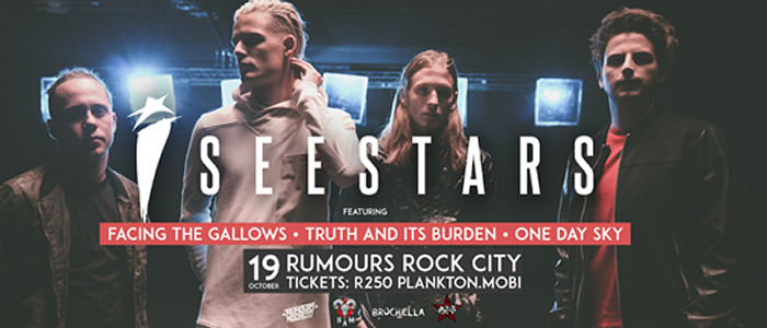 LESS THAN A WEEK TO I SEE STARS LIVE AT RUMOURS ROCK CITY