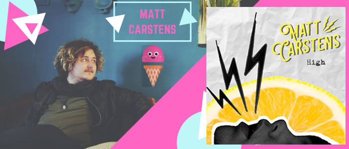 Matt Carstens releases new single, 'High'