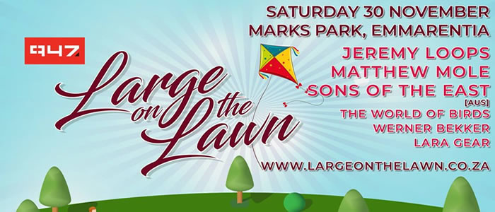 Large On The Lawn returns on 30 November