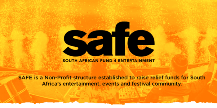 Support SAFE – South African Fund 4 Entertainment