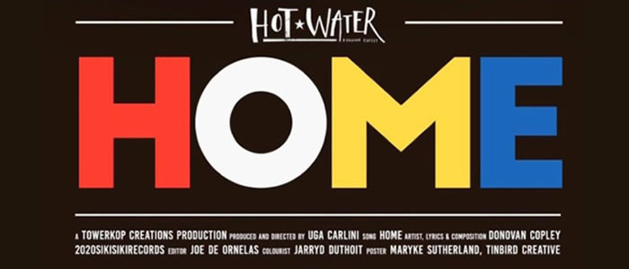 Hot Water's brand new single 'HOME' is out now
